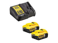 wanted dewalt battery and charger