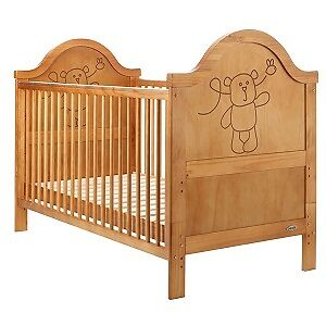 Obaby B is For Bear Country Pine Cot Bed
