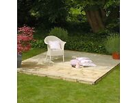decking kit 2.4mx2.4m with all the components including frame £110.00