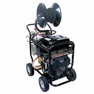 5000 PSI PRESSURE WASHER 6.6GPM - 24HP V-Twin Engine - Gearbox Reduction Pump