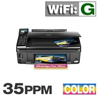 Epson Stylus NX510 Wi-Fi All-in-One Color Printer