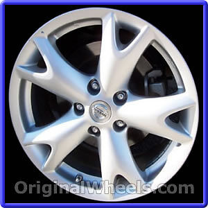 """Mags Nissan Rogue 17"""" oem"""