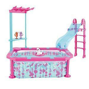Barbie pool ebay for Barbie doll house with swimming pool