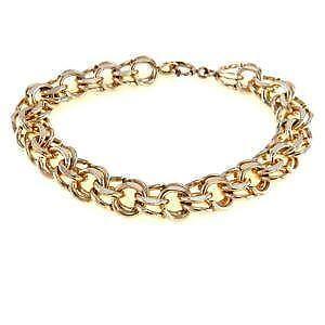 Vintage Gold Filled Charm Bracelet ea7b0fa6053