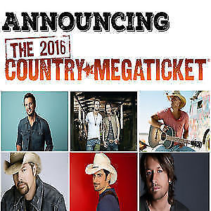 Country Megaticket hard copy Lawn Seats