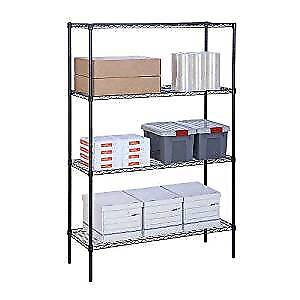 4 Tier Commercial Grade Wire Shelving  $100