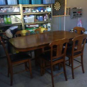 7 Piece Pub Style Dining/Kitchen Set