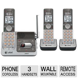AT&T CL82301 DECT 6 CORDLESS PHONE w/ ANSWERING SYSTEM