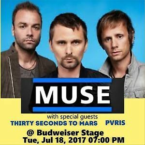 Muse in Toronto Tues July 18th