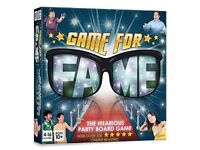 Game for Fame Board Game - Brand new and unopened