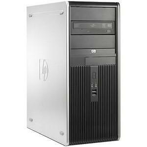 HP Tower with Intel C2D E8400 3.0Ghz / 4GB Ram/ DVD/RW / WIN 7