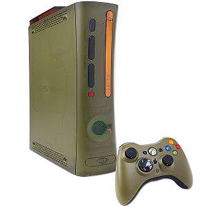 Halo Edition Xbox 360 Console with 2 controllers and 10 Games