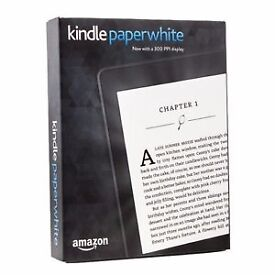 **REDUCED** KINDLE PAPERWHITE 4GB! BRAND NEW AND BOXED! £75