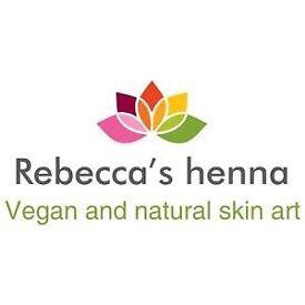 Mobile henna artist in and around Edinburgh