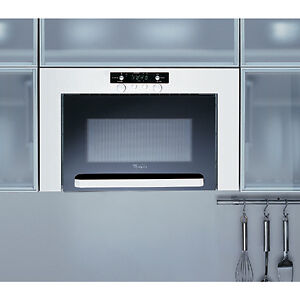 Integrated Microwave Whirlpool Amw 460 Stainless Steel