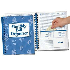 Monthly Bill Organizers