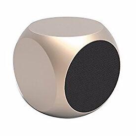 X- square Rechargeable metal mini speaker