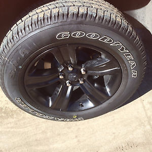 """Goodyear Wrangler SRA Tires only 275/60/20 'RIMS NOT INCLUDED"""""""