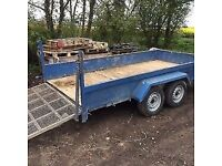 Large Twin Axel Plant Trailer 12ft x 6ft