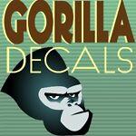 Gorilla Decals