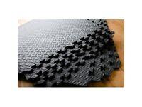 Easimat Foam Rubber Interlocking Gym Floor Mats