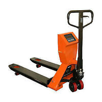 Hand Pallet truck pump truck pallet jack with scale