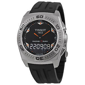 Tissot Racing T-Touch Black Rubber Men's Watch T0025201705102
