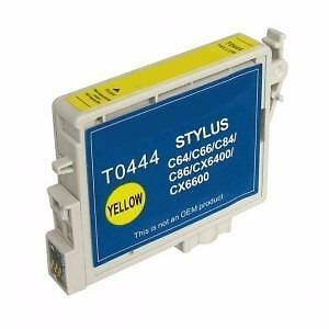 Epson T0444 (T044420) Ink Cartridge Yellow (Canada Only)