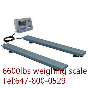 6600lbs pallet truck weighing scale ON PROMOTION