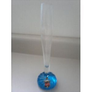 Hand Made Glass Bud Vase