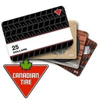 Canadian tire,Lowe's,Home Depot,Shoppers,Tim,Gas gift cards