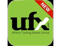 Start Making Money Online Today Using Your Smartphone Tablet Computer Learn To Trade online With UFX