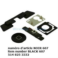 Home Button 5 Set Replacement Parts Kit for Apple iPad 2 PARTS