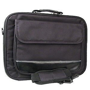 """Padded Nylon Notebook Carry Case - Fits up to 15.4"""""""