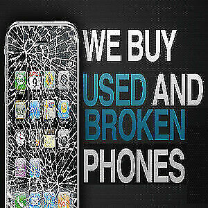 I WILL BUY YOUR BROKEN AND DAMAGE IPHONE 6- 7/ 8/ 8 PLUS X/XS/XR