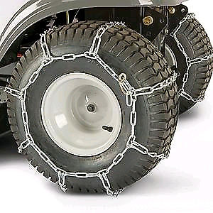 Tire chains for Lawn/Garden Tractor