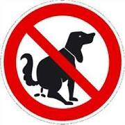 Verbotsschild Hunde