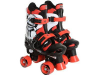 Osprey Boys Adjustable Quad Roller Skates Size 1-3