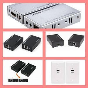 Weekly promotion!  HDMI  over  Cat5e/6    Extender,  HDMI extender with single cat5e/cat6 cable