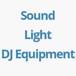 DJ Disco and PA Equipment