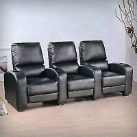Home Theater Leather  Seating $999.99 BEST $$$