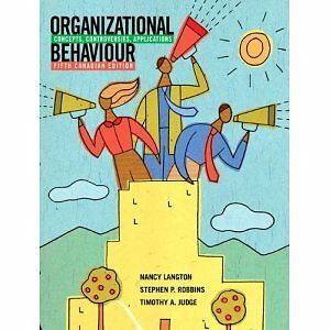 Organizational Behaviour 5th Canadian edition