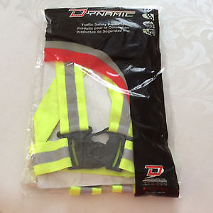 """""""Clearance"""" Lime Green safety sash XL"""