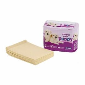 New: Pets at Home puppy training pads (30 pads) to help housetrain your puppy