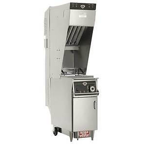 Well's – 55 lb. Electric Deep Fryer w/ Vent less Exhaust System