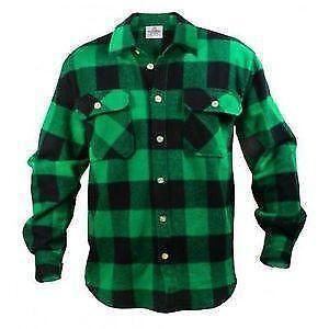 Mens Flannel Shirts | eBay