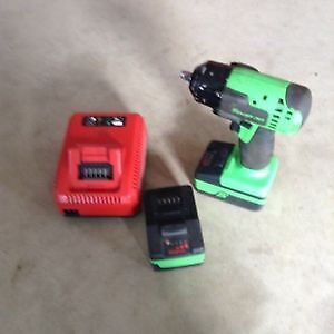 Snap on 1/2 cordless impact and grinder