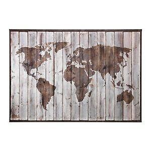Ikea premiar drift wood world map ready to hang picturecanvas ikea premiar drift wood world map ready to hang picture gumiabroncs Gallery