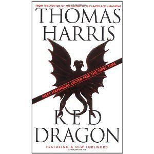 Red Dragon by Thomas Harris paperback
