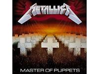 Metallica original albums